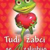 Tudi žabci se zaljubijo